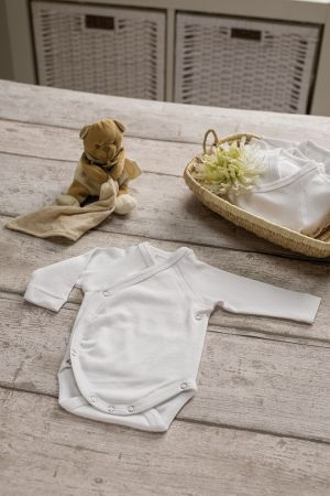 Body manches longues 100% coton