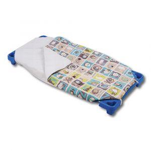 Sac de couchage hiver couchette 100% coton - Imprimé ABC
