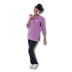 Polo EDWIGE femme, manches 3/4