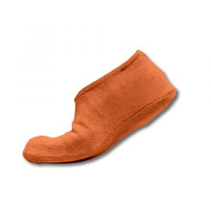 Surchaussures adultes éponge - Orange