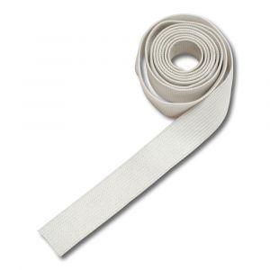 Elastique plat pour drap sac - couchette - blanc