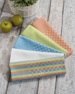 Serviette coton & polyester