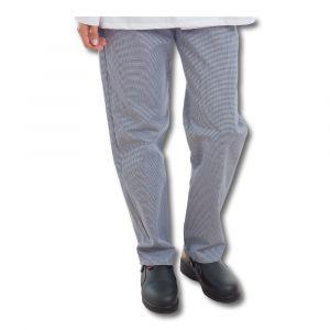 Pantalon de cuisine PATSY - Marine/Blanc
