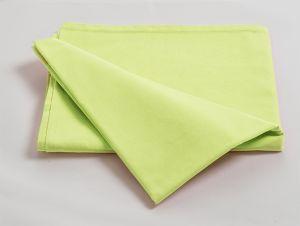 Déstockage Drap plat polyester / coton stabilisé - 120x180