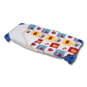 Sac de couchage hiver couchette 100% coton - Imprimé Coccinelle