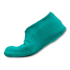Surchaussures adultes éponge - Turquoise
