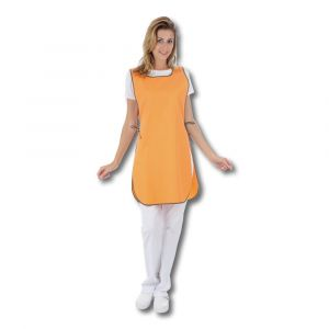 Tablier T1 chasuble - Orange/Kaki - 67/33 - Taille Unique