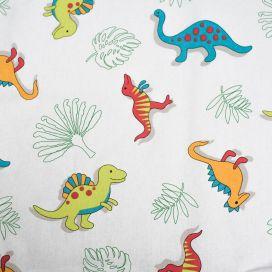 Tissu imprimé Dino - vendu au mètre